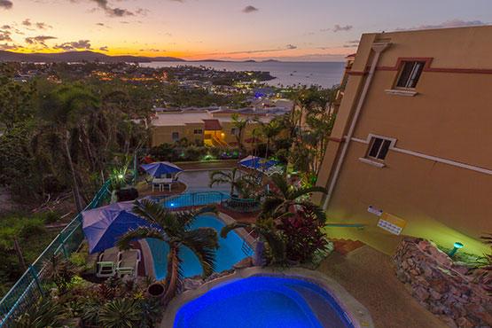 toscana village resort airlie beach pool